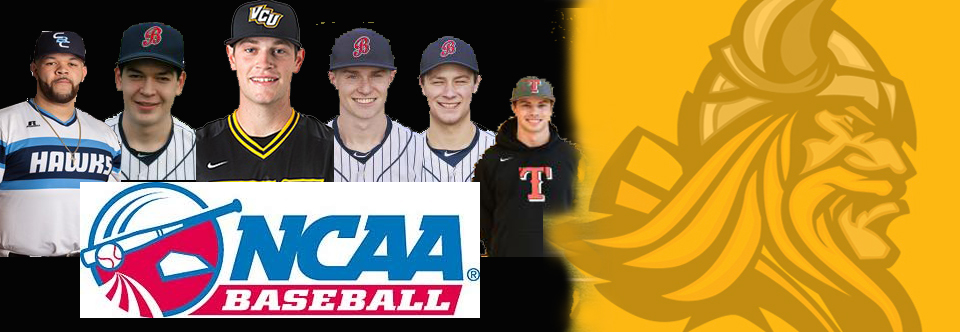 VIKINGS PLAYING COLLEGIATE BASEBALL
